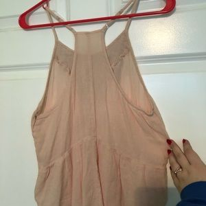 Light pink halter top